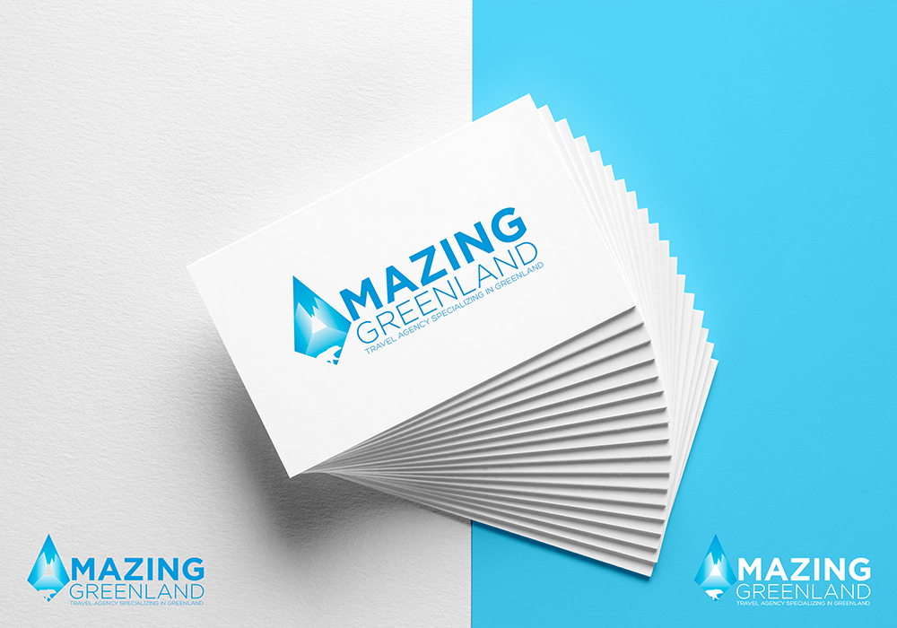 Personable, Colorful, Travel Agent Logo Design for Amazing Greenland ...