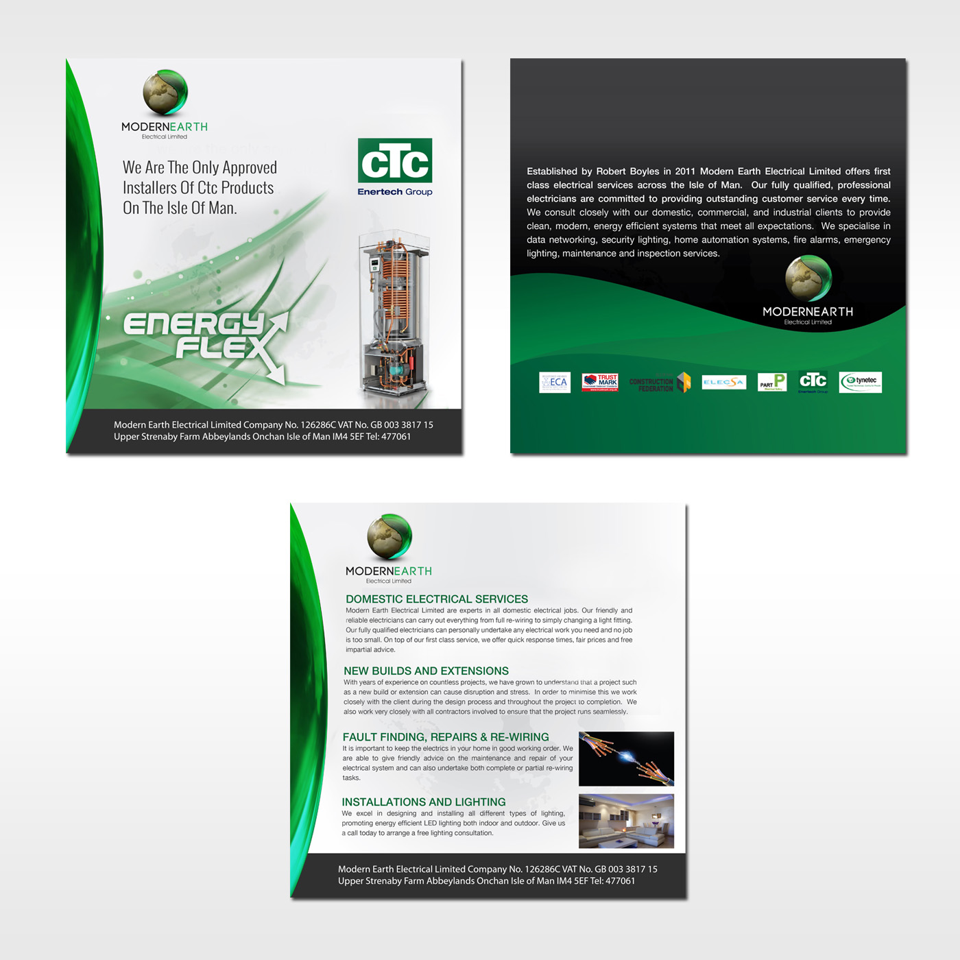 Elegant Modern Electrical Brochure Design For A Company By Commercial Wiring Jobs Debdesign This Project 12658741