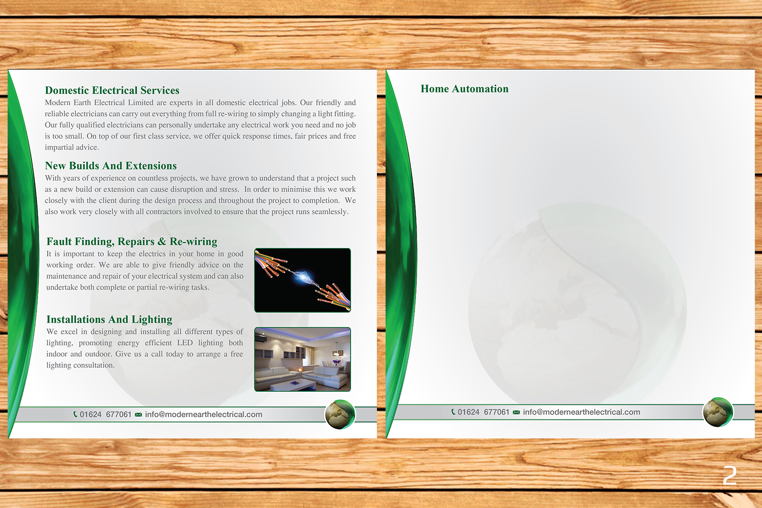 Elegant Modern Electrical Brochure Design For A Company By Home Installation Upgrade Importance Designanddevelopment This Project 12689394