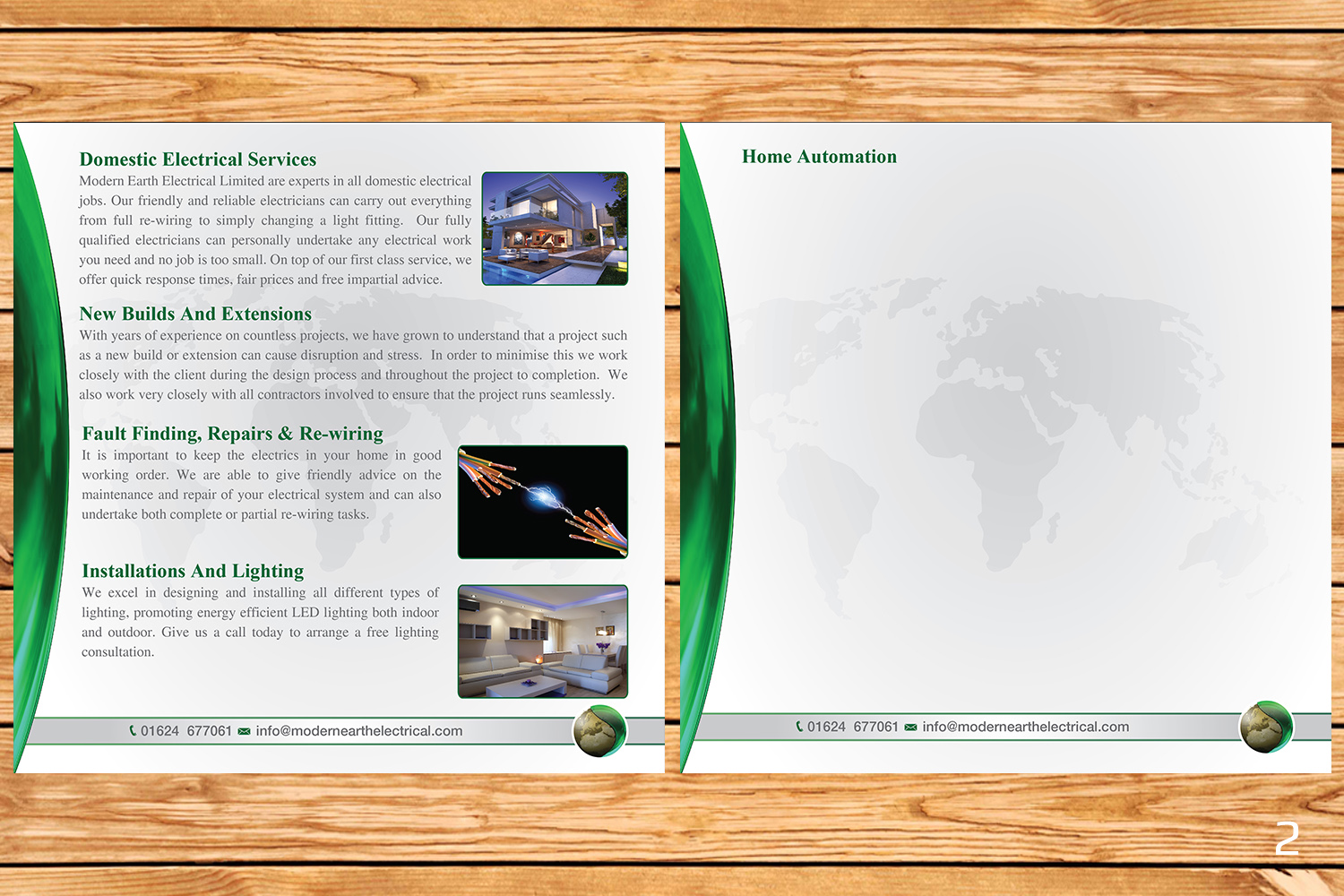 Elegant Modern Electrical Brochure Design For A Company By And Home Automation Wiring Designanddevelopment This Project 12727146