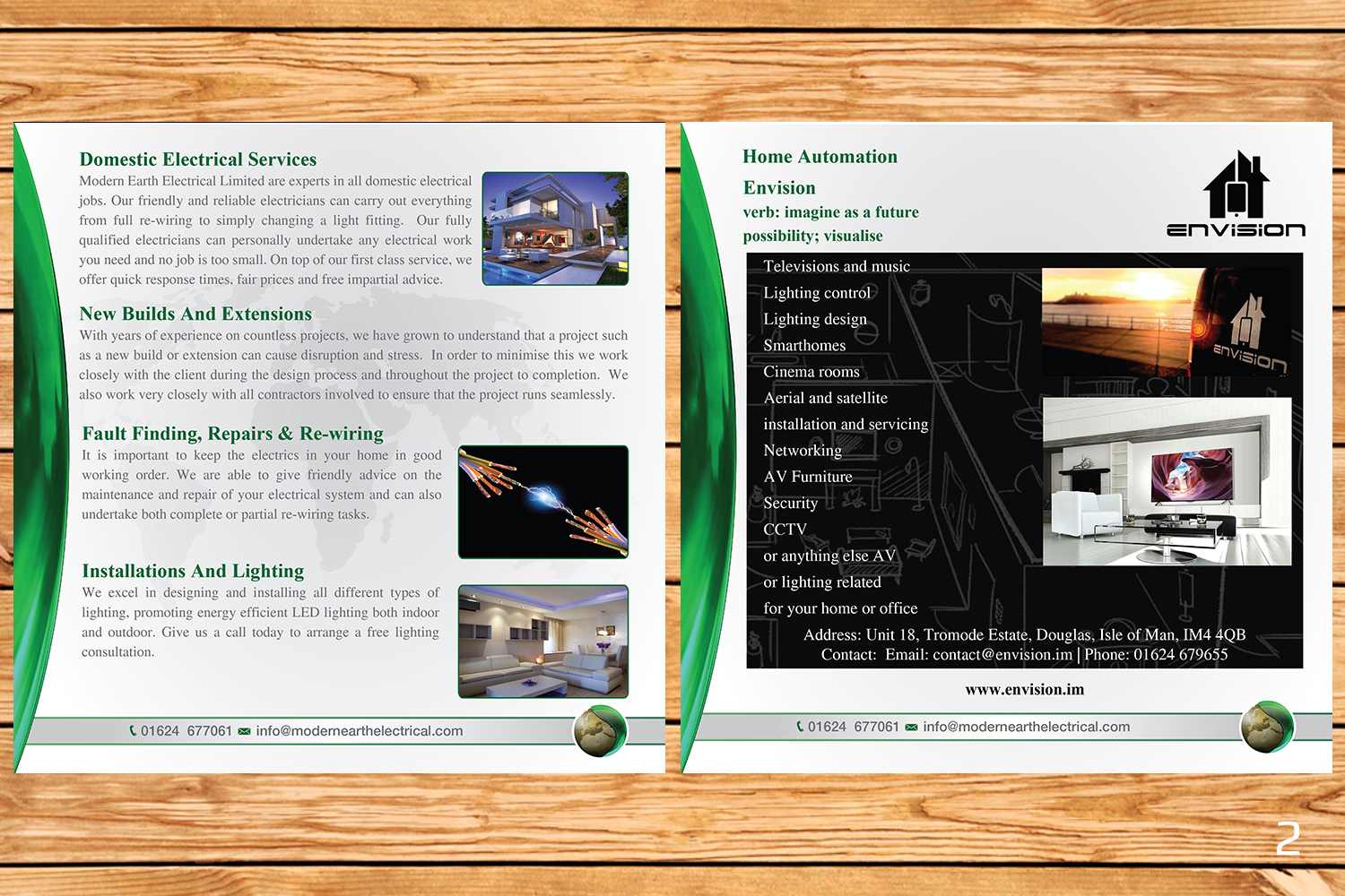 Elegant Modern Electrical Brochure Design For A Company By And Home Automation Wiring Designanddevelopment This Project 13038907