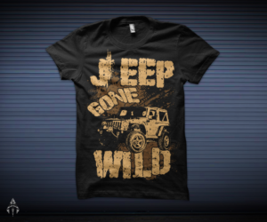 Modern Bold Tshirt Designs For A Business In United States - Jeep t shirt design