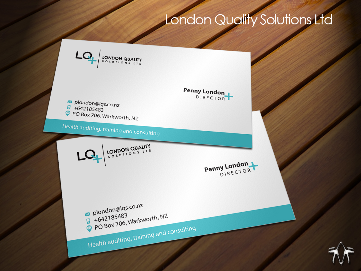 Bold, Serious, Business Business Card Design for Health auditing ...