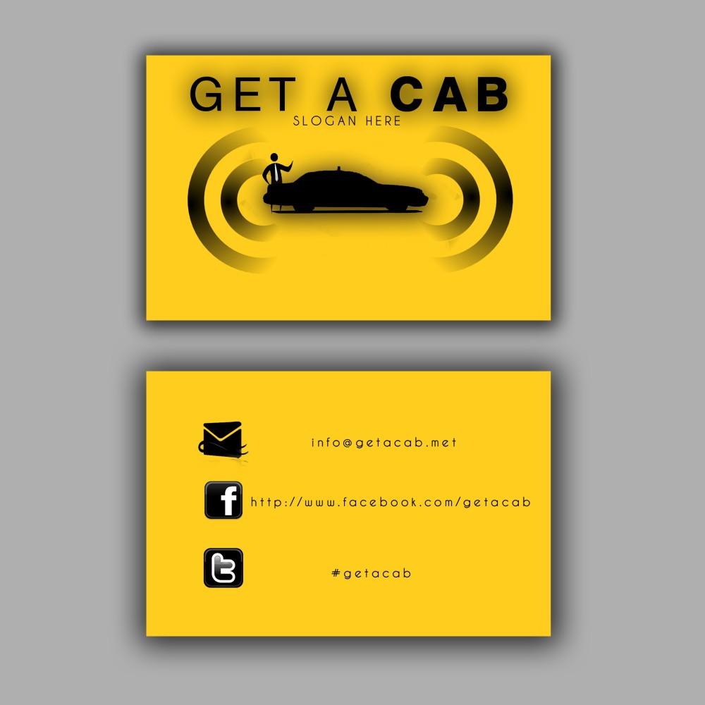 Design De Carte Visite Moderne Elegant Taxi Pour A Company En Aux Australia