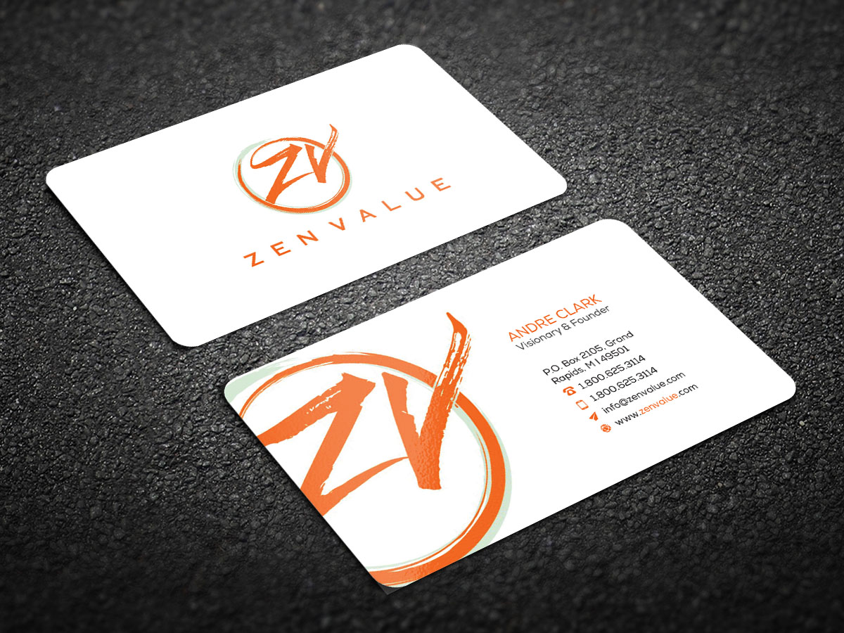 217 Upmarket Business Card Designs | Management Consulting Business ...