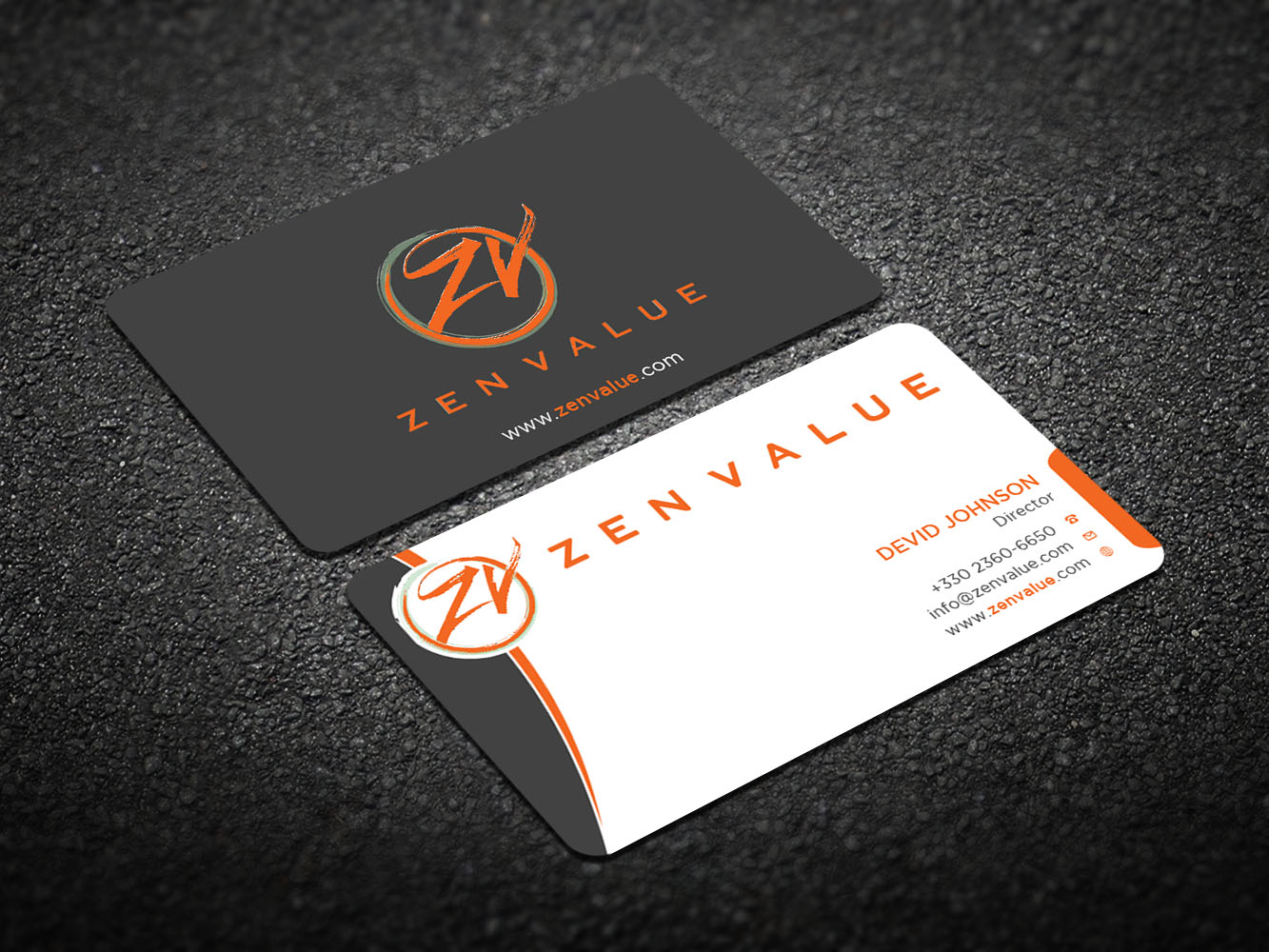 Upmarket bold management consulting business card design for zen business card design by design xeneration for zen value design 12588935 colourmoves