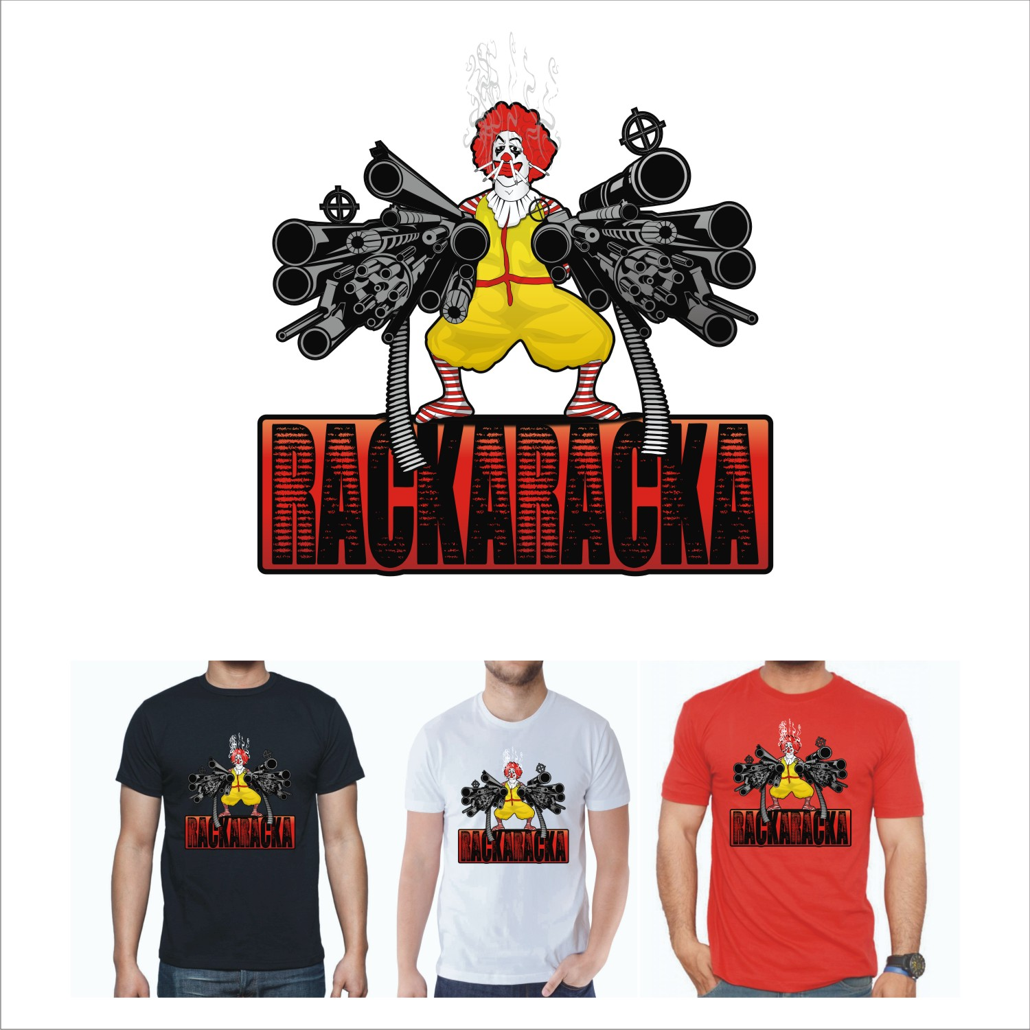 Design t shirt youtube - T Shirt Design By Lockjawcreative For Rackaracka Large Youtube Channel Needs T Shirt