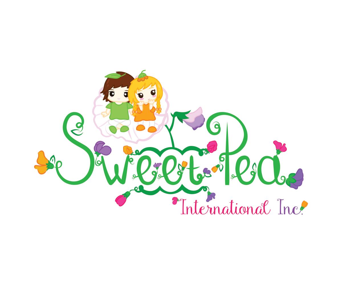 Sweet Pea Logo Design by Corebros Studios