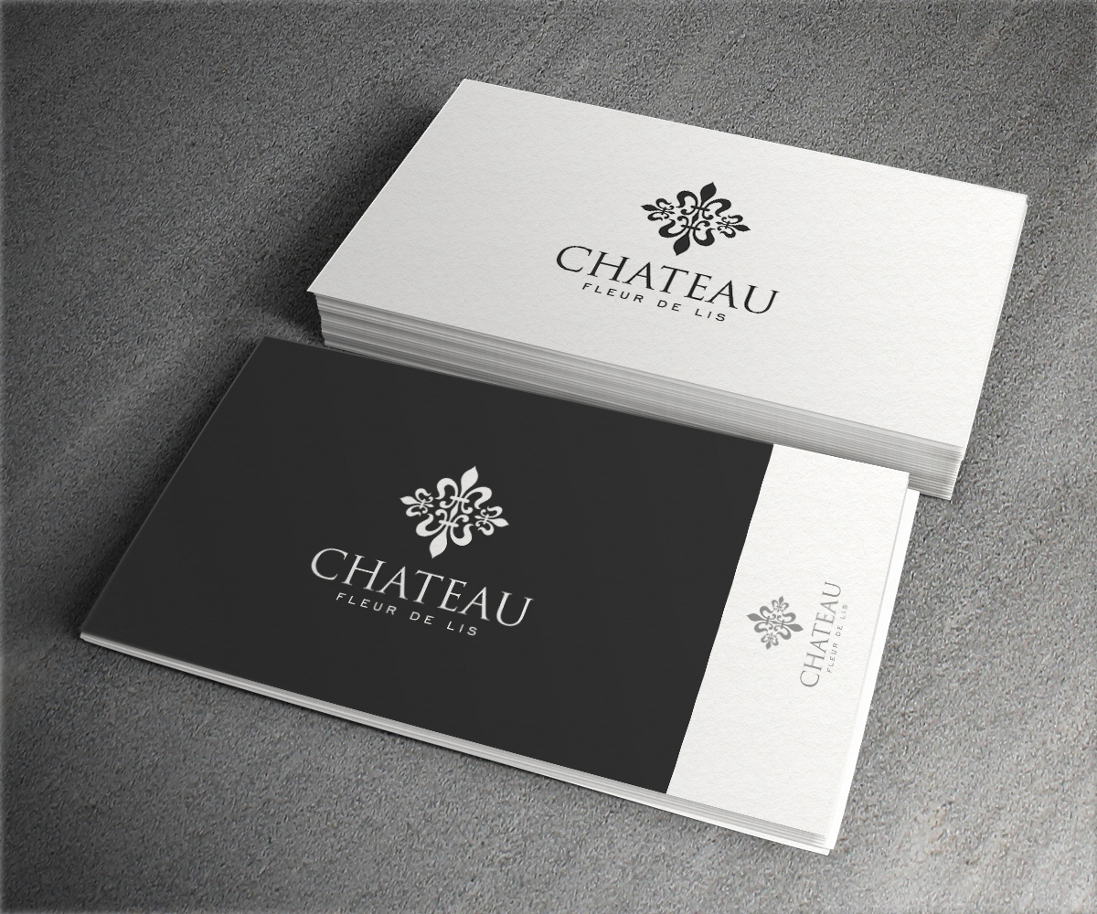 Elegant traditional logo design for chateau fleur de lis by elegant traditional logo design for a company in united states design 12626920 colourmoves