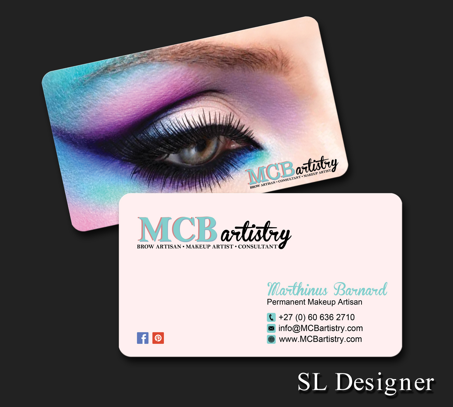 Modern professional industry business card design for mcbartistry business card design by sl designer for mcbartistry design 12623951 reheart Choice Image