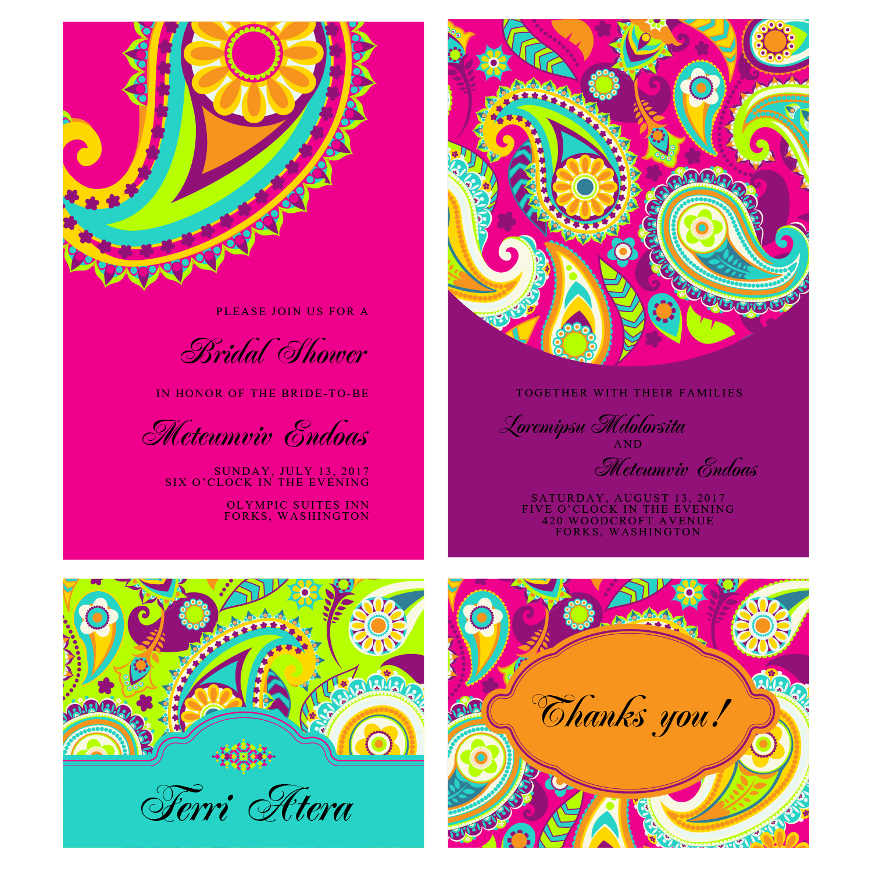 Elegant Modern Wedding Invitation Design For A Company By Arlaine