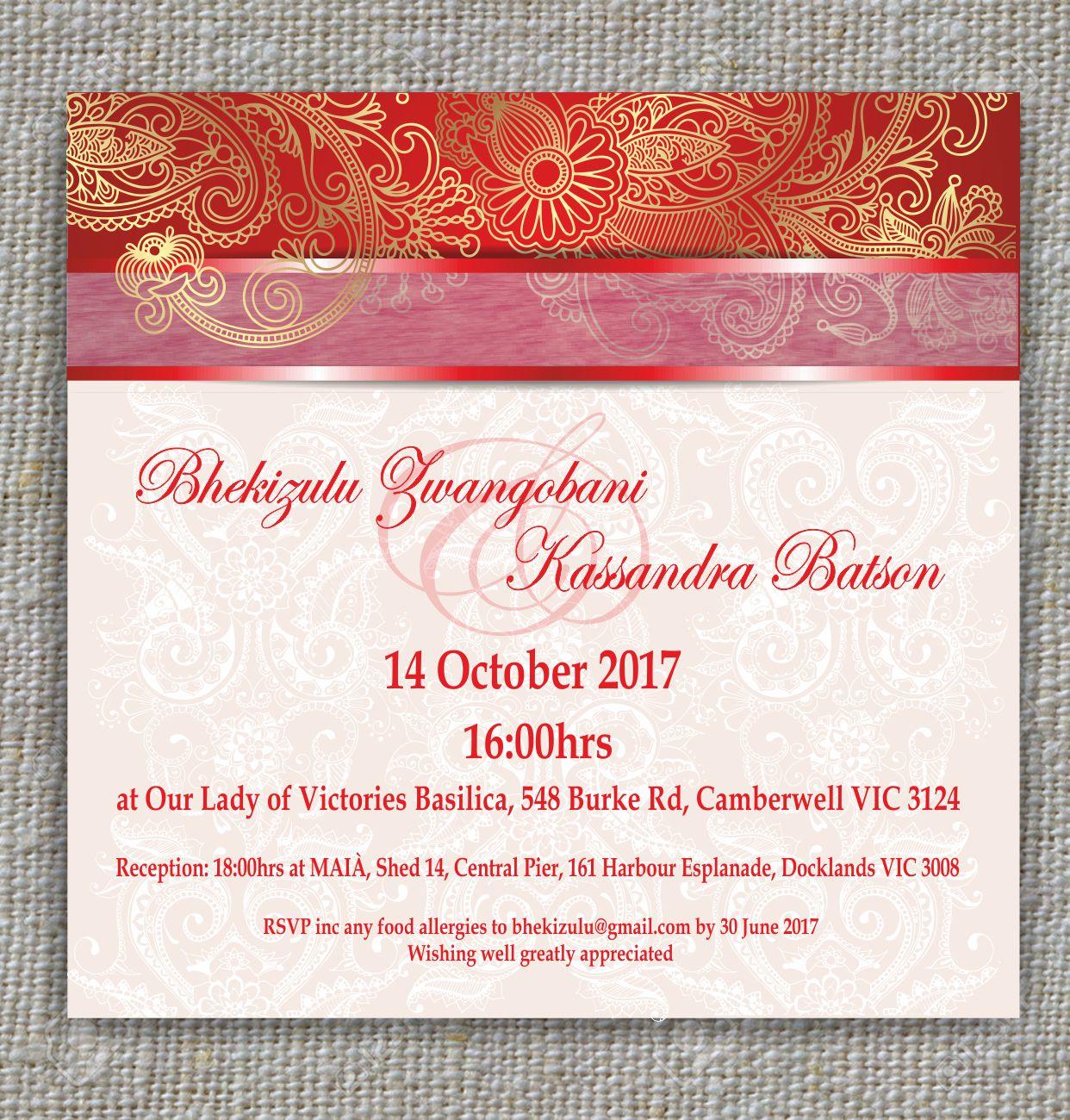 Elegant modern wedding invitation design for a company by inesero elegant modern wedding invitation design for a company in australia design 12668153 stopboris Images