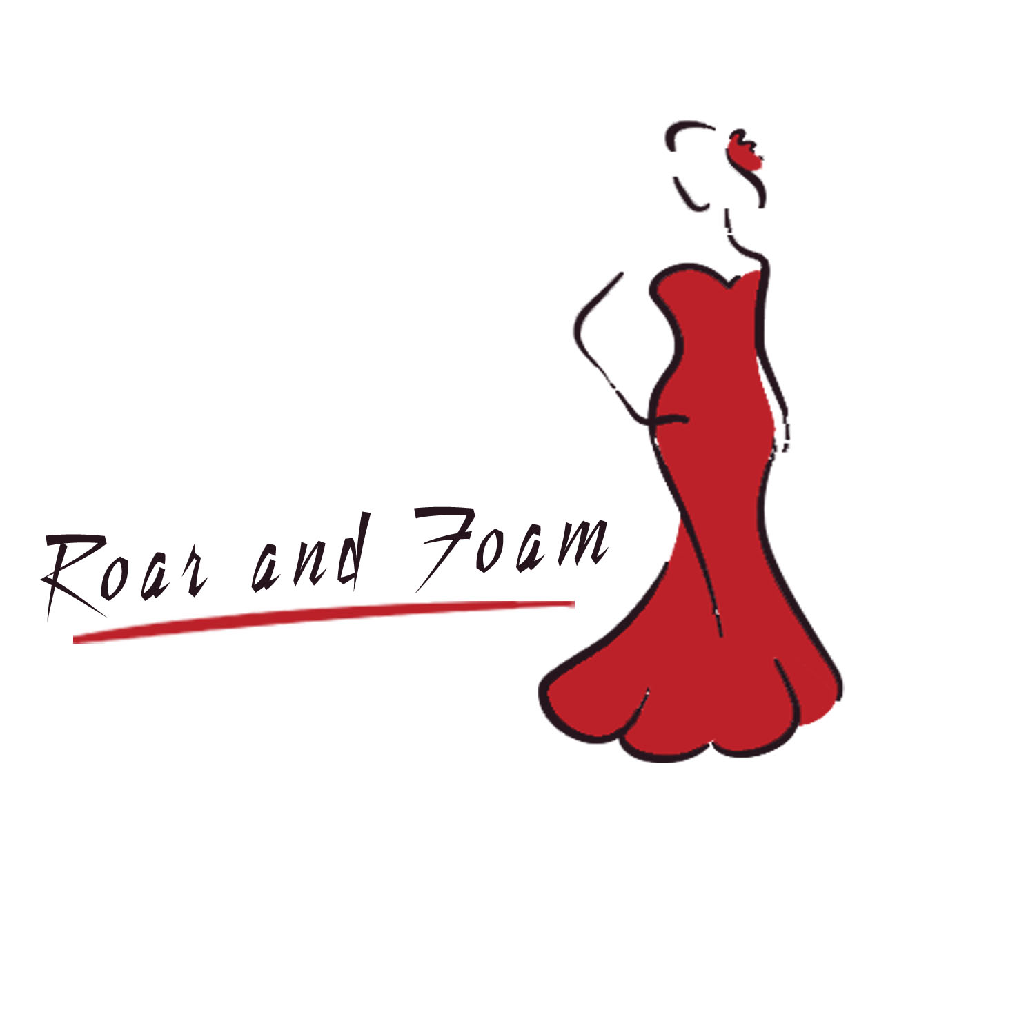 Feminine Elegant Womens Clothing Logo Design For Roar