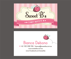 Candy business card designs 2 candy business cards to browse sweet bs candy buffets needs a business card designed business card design by choyoy colourmoves
