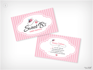 Sweet business card designs 16 sweet business cards to browse sweet bs candy buffets needs a business card designed business card design by abgraphicdesign colourmoves