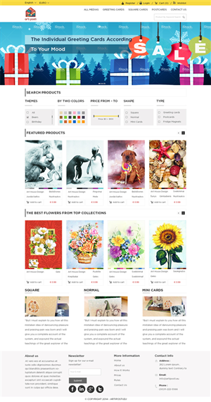 Occasion Web Design Galleries for Inspiration