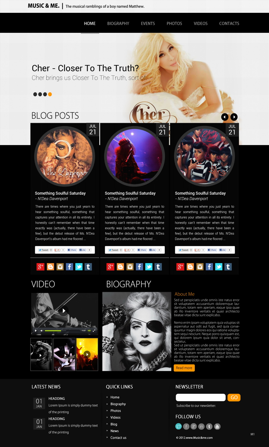 Modern, Professional, Shop Web Design for a Company by pb | Design