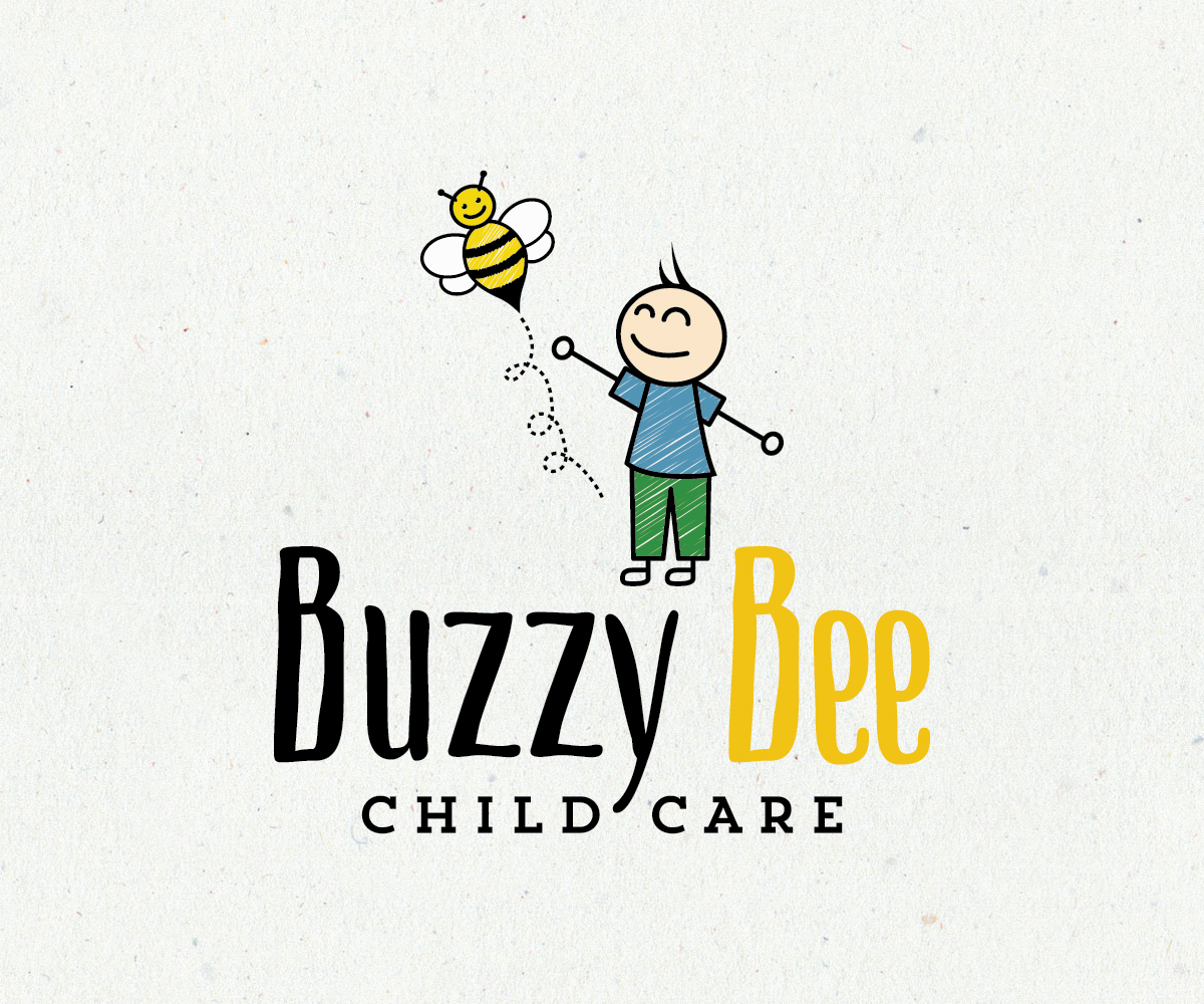 Home Decor Home Based Business: 155 Playful Colorful Childcare Logo Designs For Buzzy Bee
