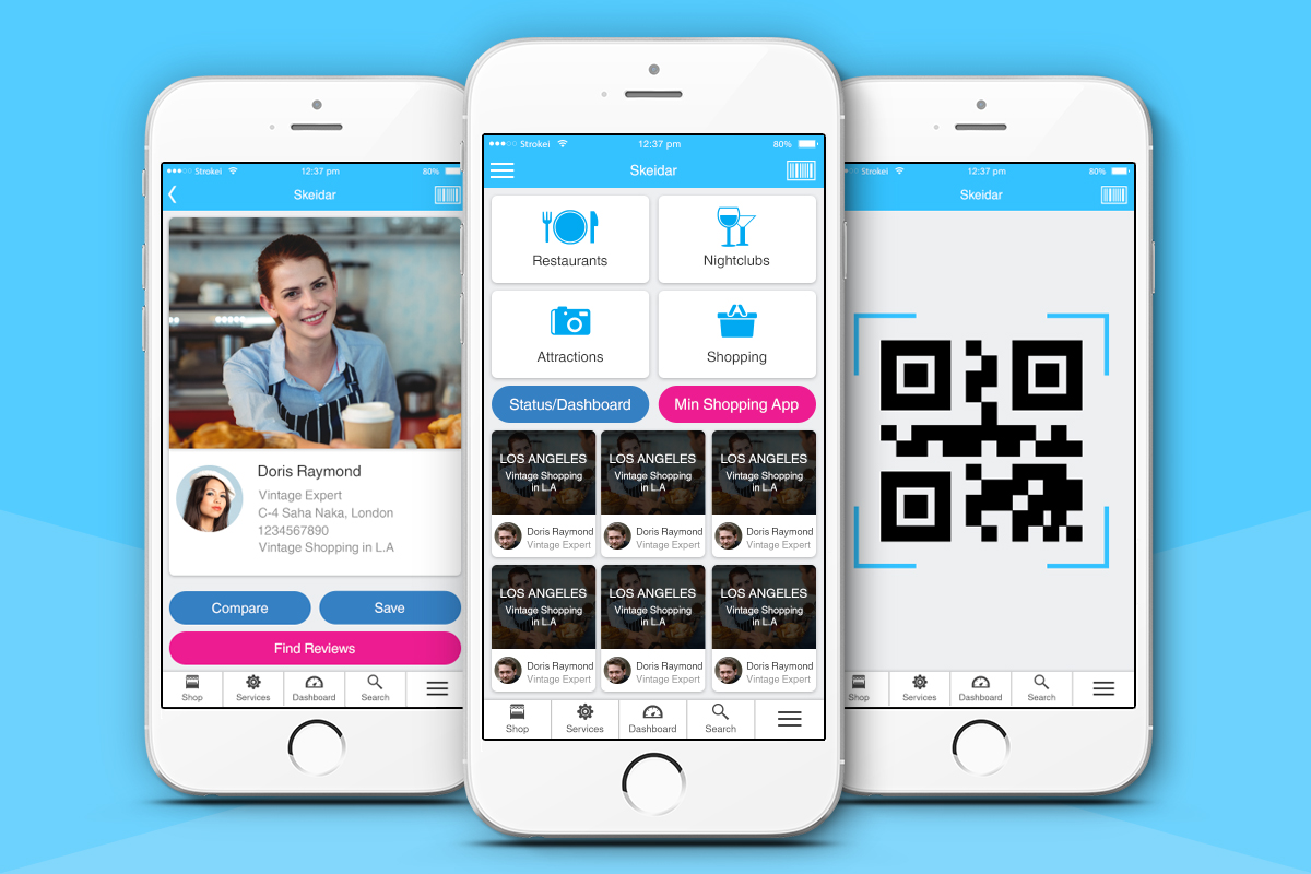 Modern professional app design for aispot as by for App layout design software