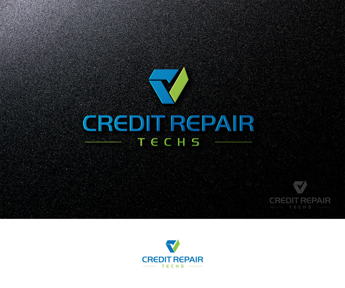Elegant Playful Business Logo Design For Credit Repair Techs By Kejo87 Design 12658220