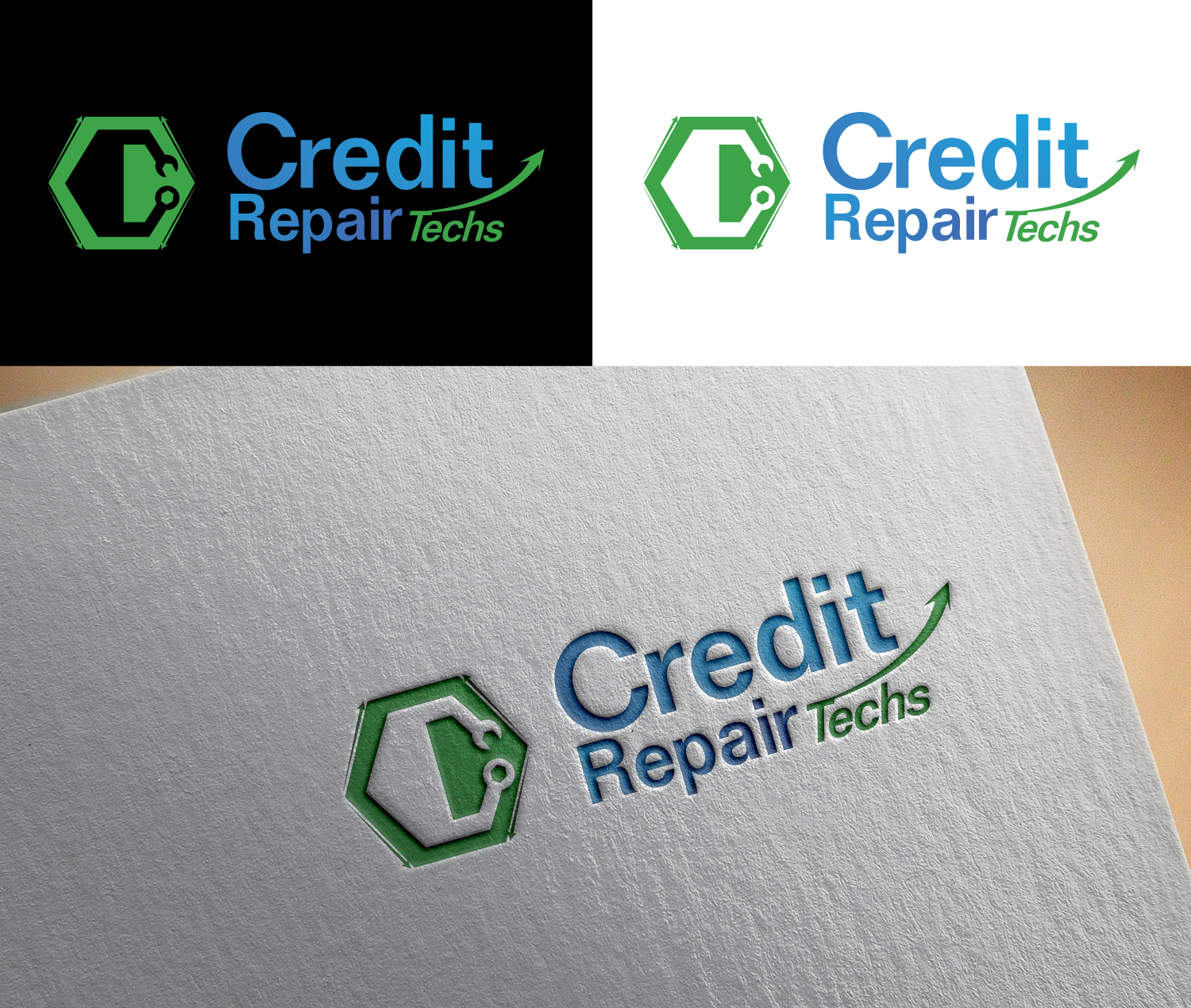 Elegant Playful Business Logo Design For Credit Repair Techs By Artdot06 Design 12658436