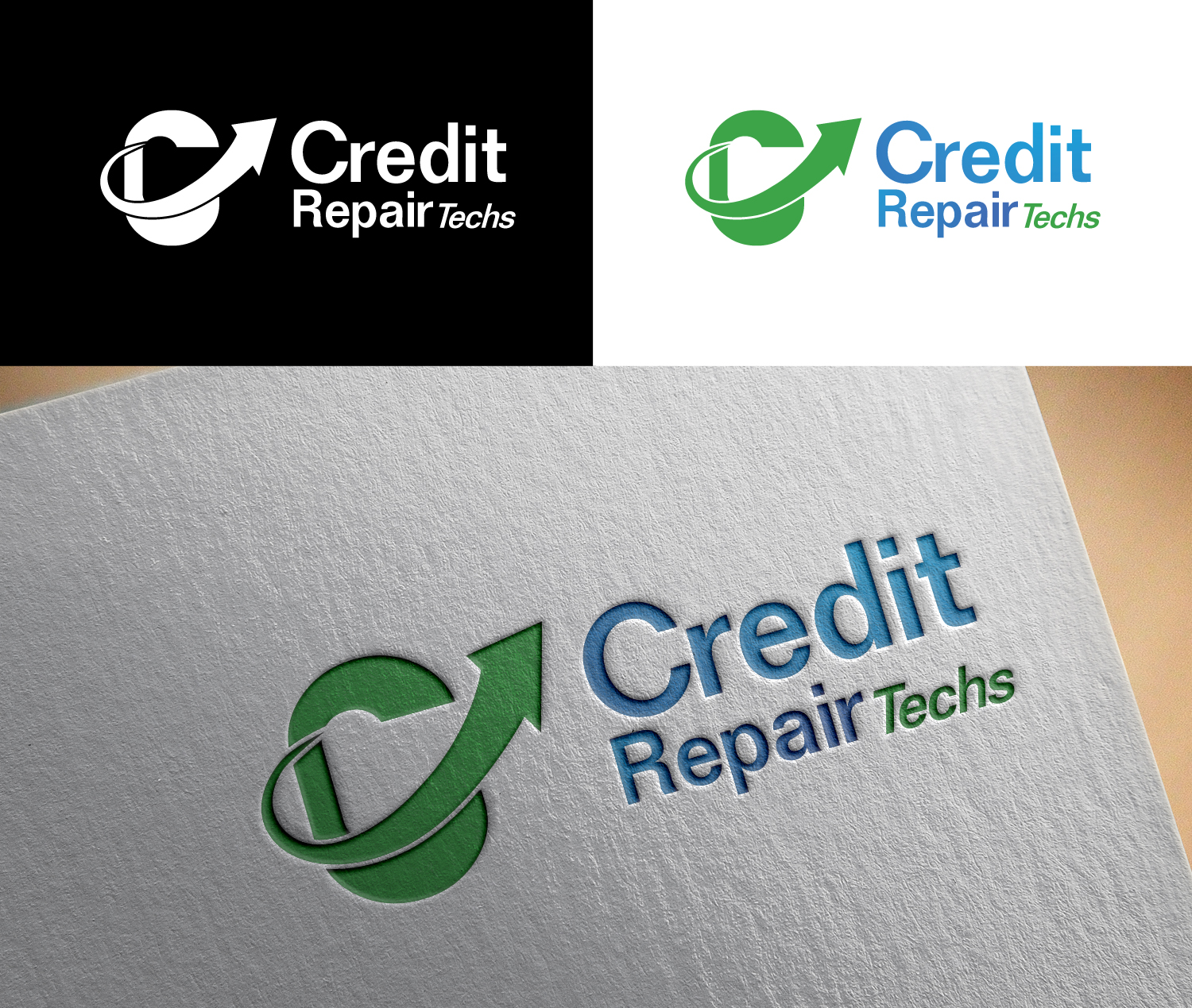 Elegant Playful Business Logo Design For Credit Repair Techs By Artdot06 Design 12658942