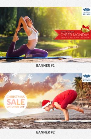 Christmas Banner Ads 40 Custom Christmas Banner Ad Designs