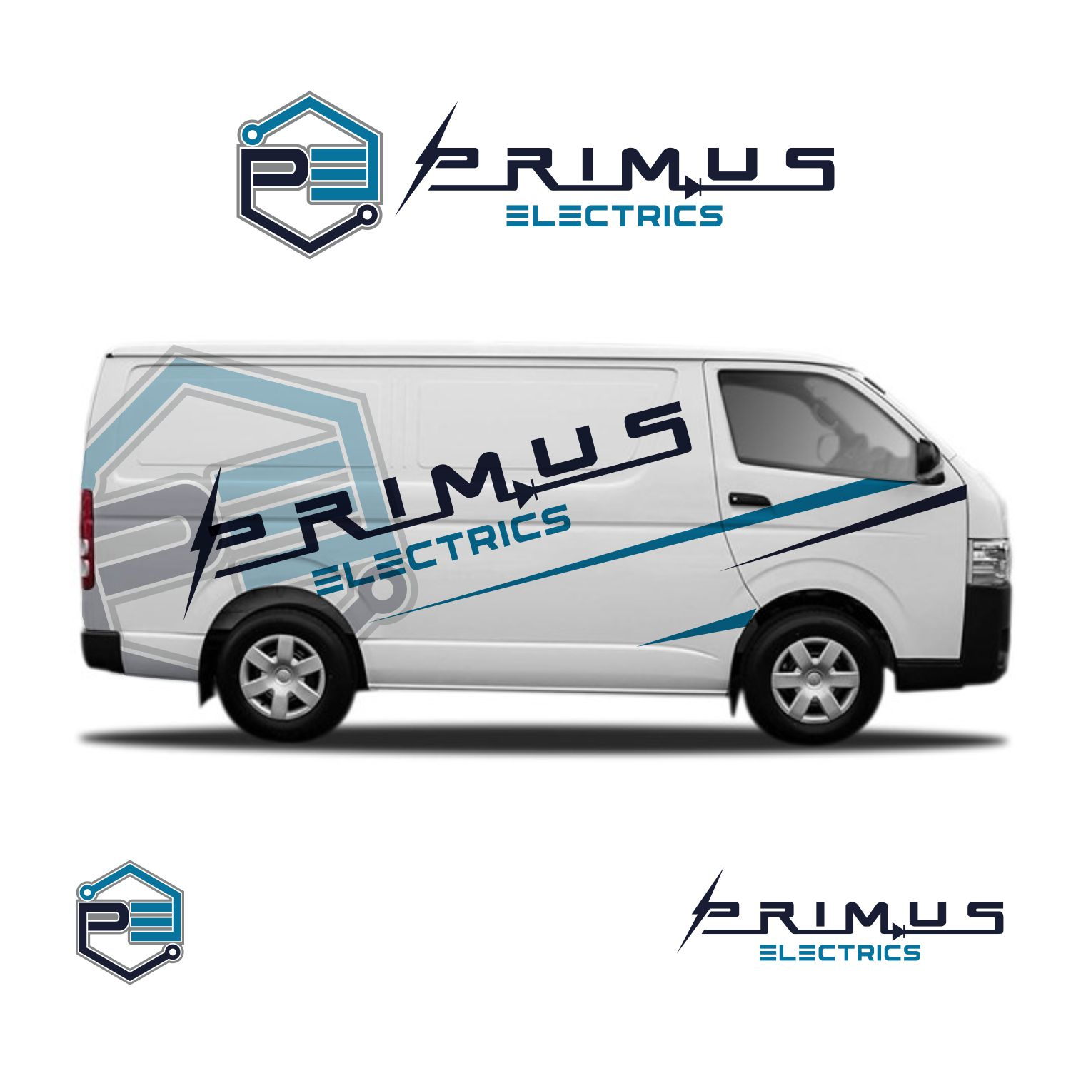 Professional conservative electrical logo design for for Australian design firms