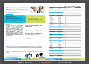 Brochure Design by Ramaling Belkote - Laboratory Pain Managment Brochure