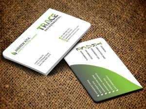 224 modern business card designs business business card design business card design by sandaruwan for trace environmental design 12758572 colourmoves