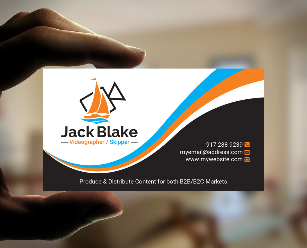 Modern professional videography business card design for the business card design by sandaruwan for the skipper lifestyle design 12761928 reheart Gallery