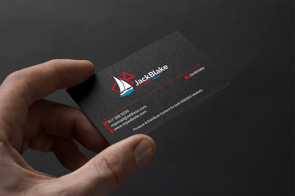 Modern, Professional, Videography Business Card Design for The ...