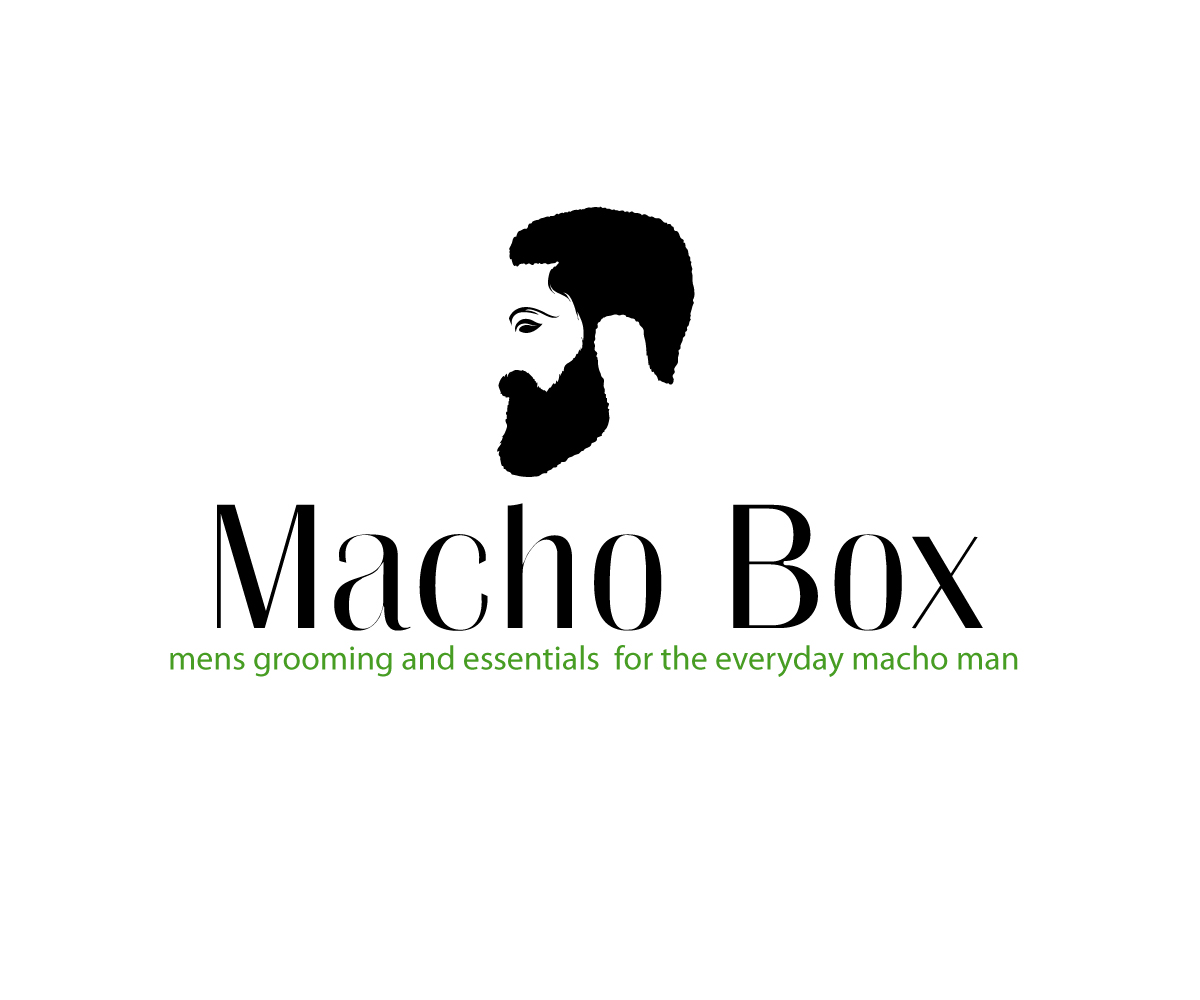 Masculine Bold Marketing Logo Design For Macho Box Mens Grooming And Essentials Box For The Everyday Macho Man By Jay Design Design 12746528