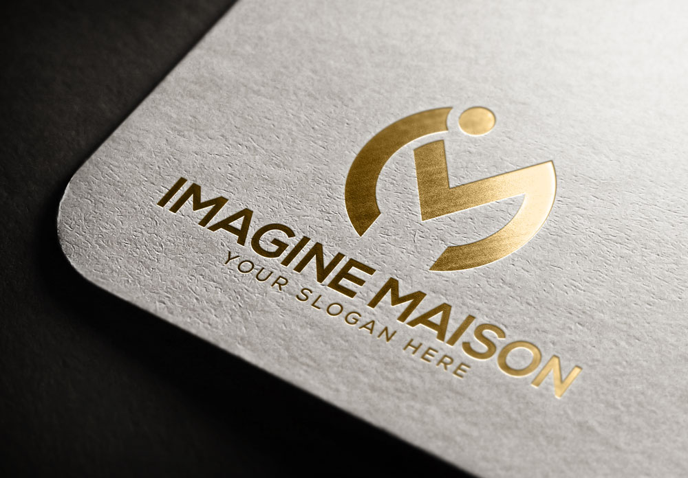 Modern, Upmarket, Small Business Logo Design for Imagine Maison by ...