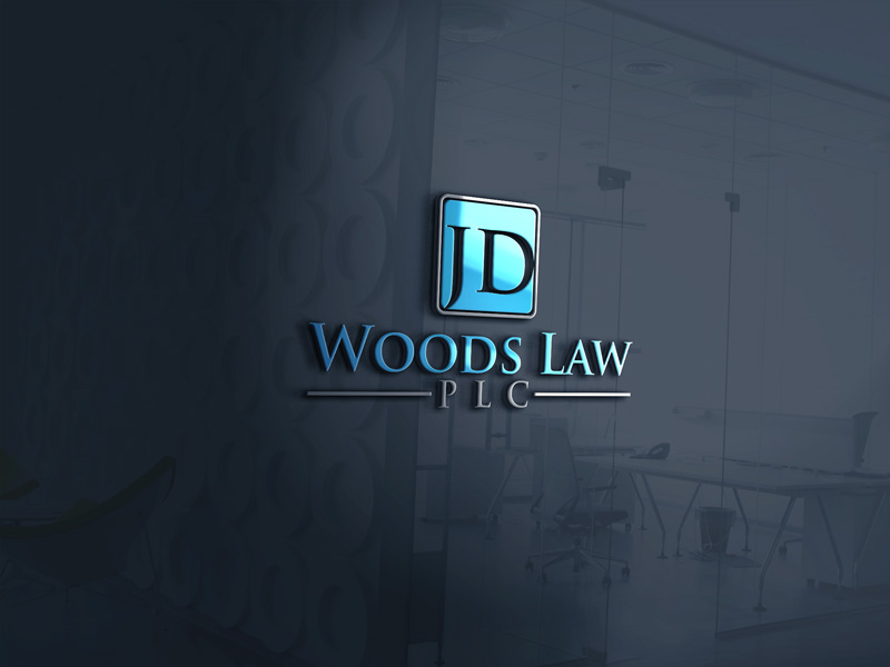 serious professional law firm logo design for jd woods law plc by neon design 12753501 designcrowd