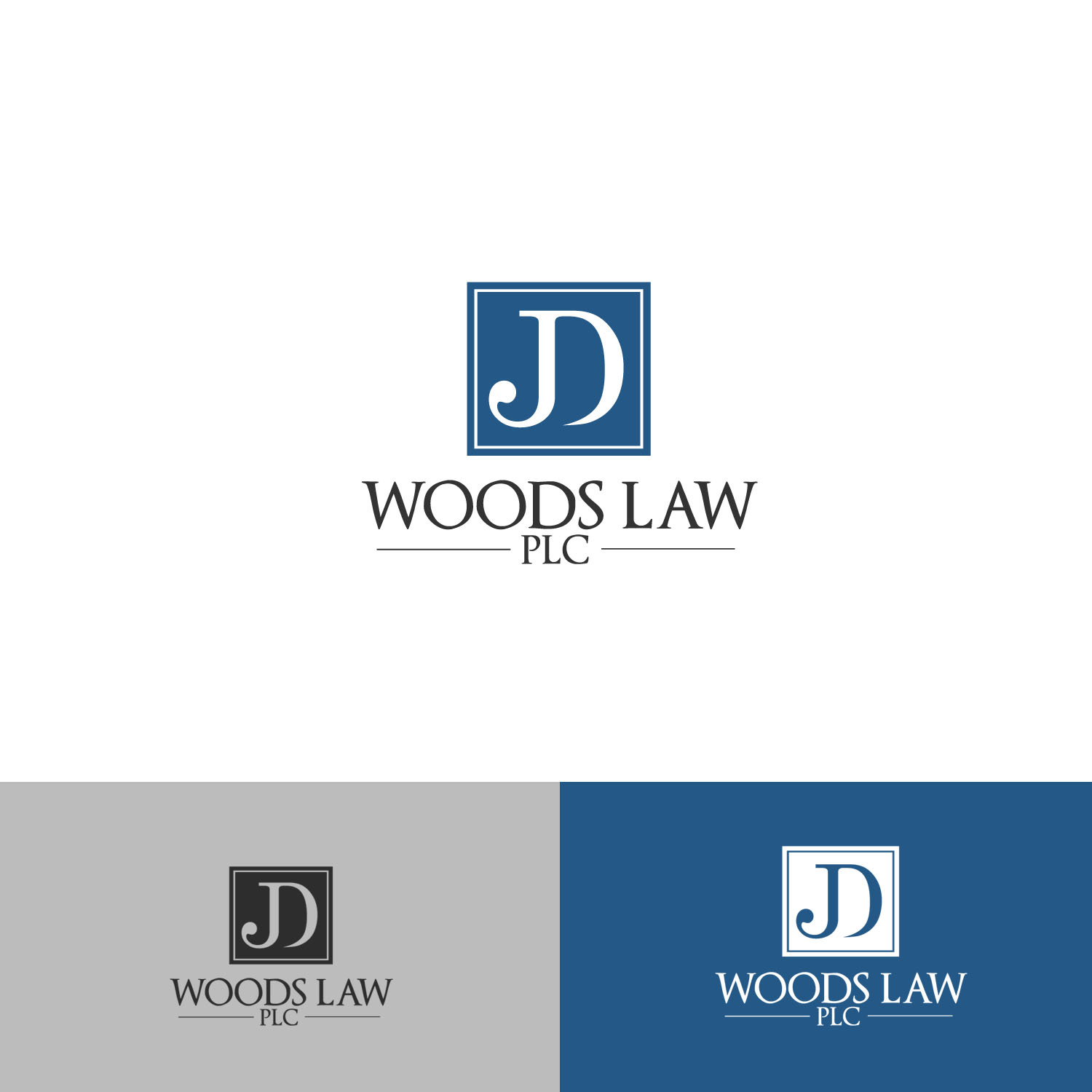serious professional law firm logo design for jd woods law plc by art creators design 12841458 designcrowd