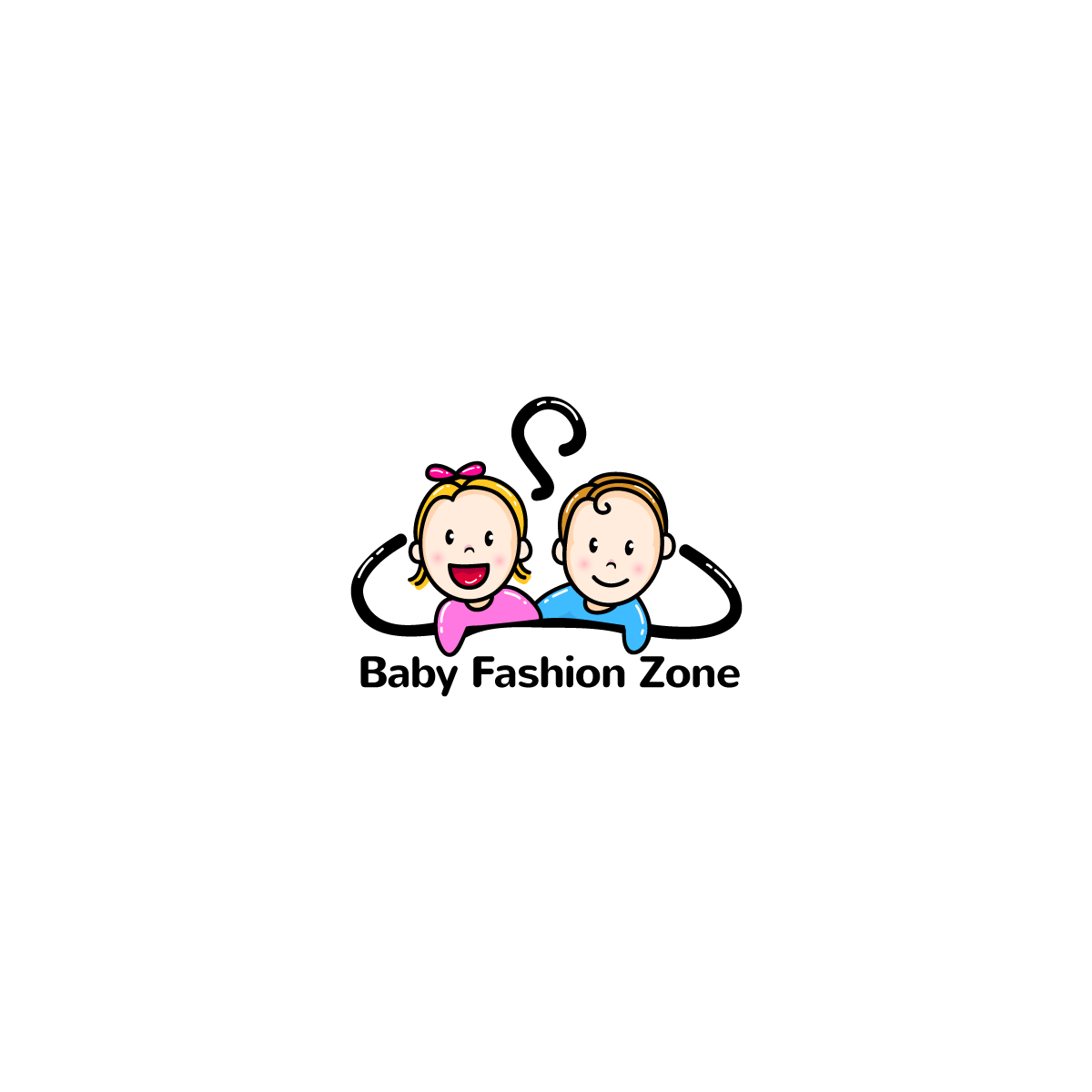 Modern Upmarket Fashion Logo Design For Baby Fashion Zone By Jamex Creative Solution Design 12828178