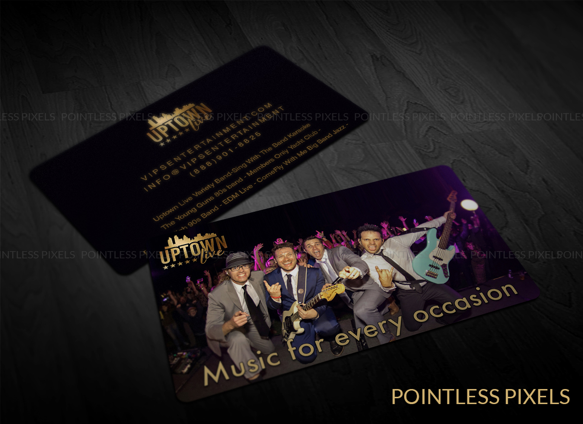 Bold, Modern Business Card Design for VIPs Entertainment, LLC by ...