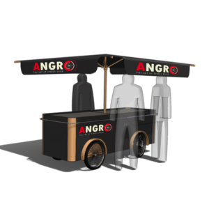 ANGRO - Logo design for the future leader in street food