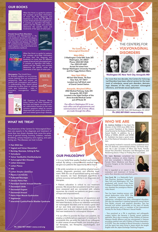 Traditional, Bold, Medical Brochure Design for CVVD by