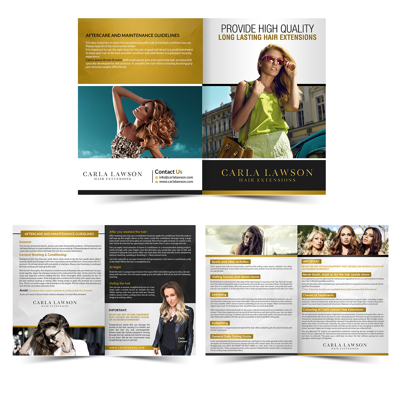 Professional, Upmarket, Hair And Beauty Flyer Design for a