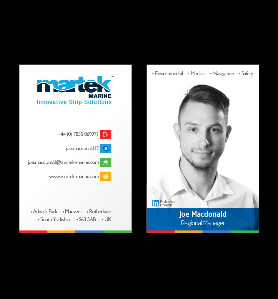 Elegant playful business business card design for martek marine by business card design by muzamil for martek marine design 12775962 colourmoves