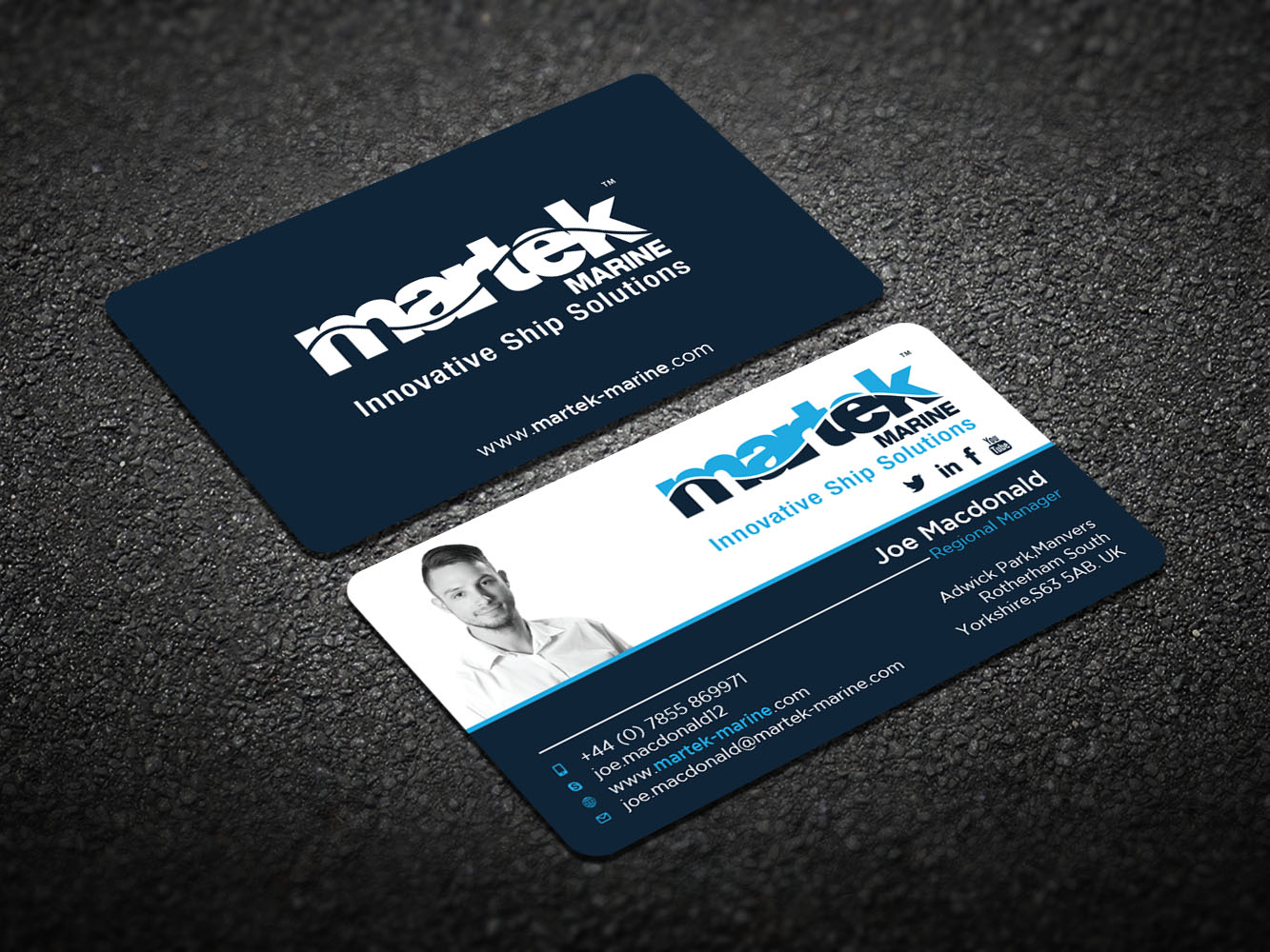 Elegant playful business business card design for martek marine by business card design by design xeneration for martek marine design 12768008 reheart Choice Image