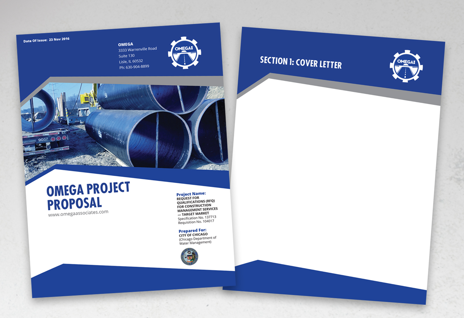 Perfect Print Design By Andrew3344 For Engineering Proposal Cover And Page Dividers    Design #12780890 Intended For Proposal Cover Page Design