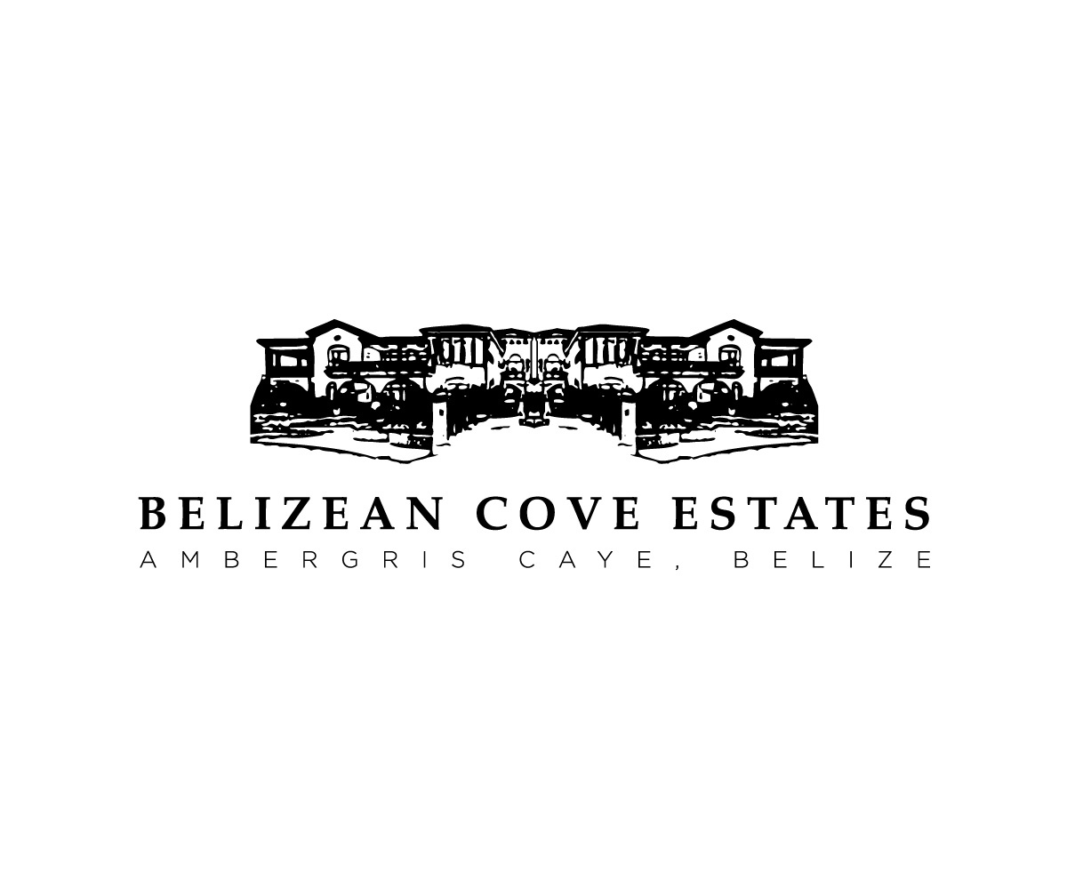 Traditional conservative building logo design for for Belizean style house plans
