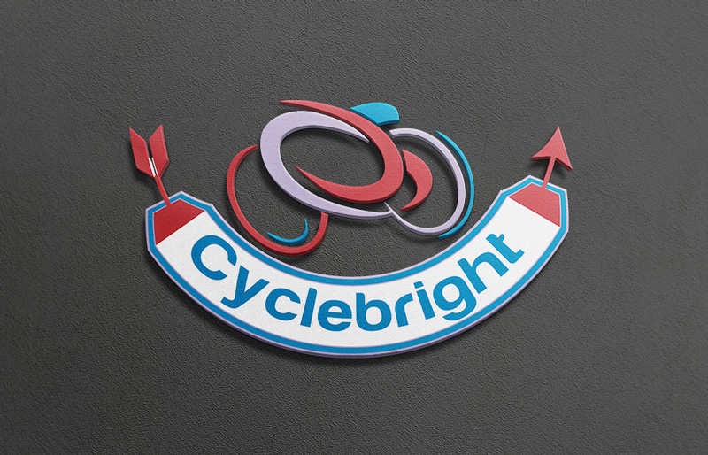 Cycling Clothes Line logo by AhmadMohammad