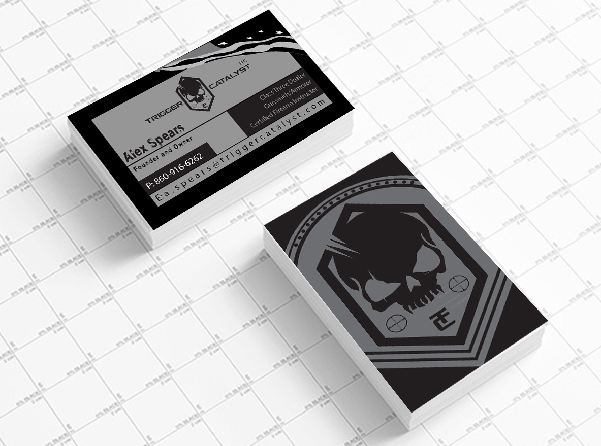 Serious, Professional Business Card Design for Alex Spears by ...