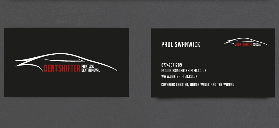 Elegant Playful Business Card Design For Paul Swanwick By