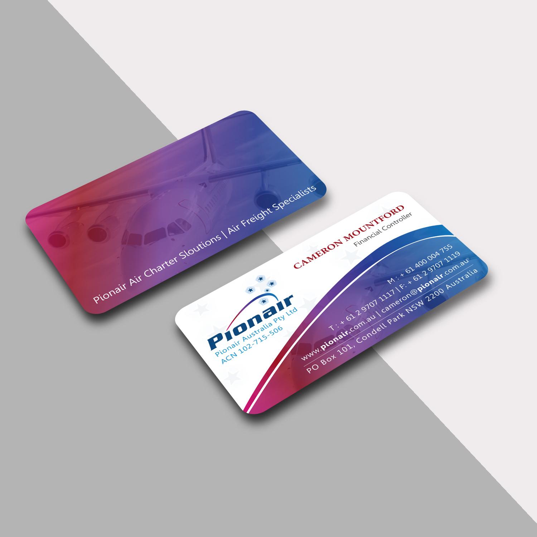 Elegant, Playful Business Card Design for Cameron Mountford by ...