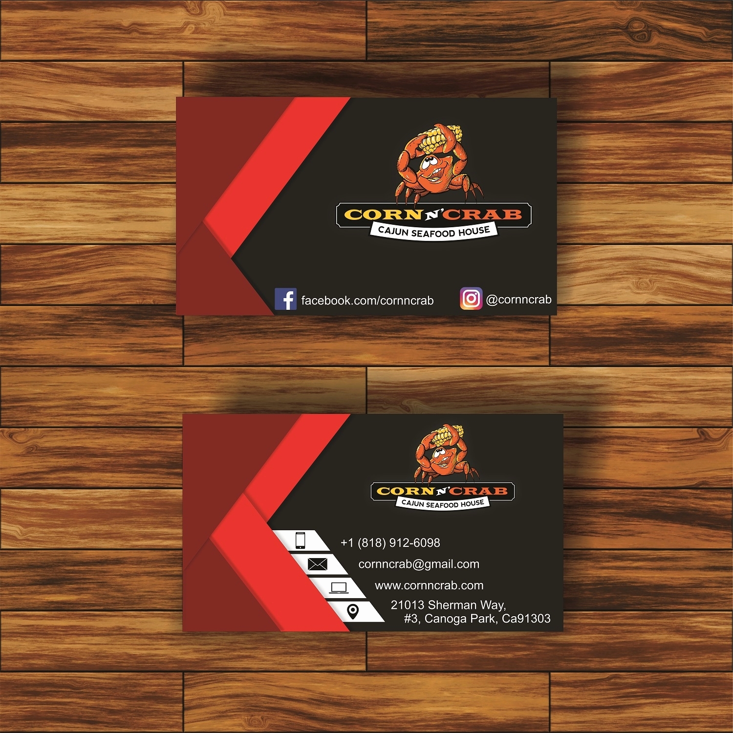 business card design by vg creations